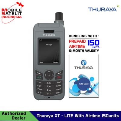 Telepon satelit Thuraya XT-LITE With Airtime 150 units