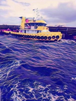 FC Tugboat 250 feet Jumbo