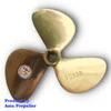 Propeller / Baling-baling kapal Kuningan Jenis TS 130 | Asia Propeller - 1 inch