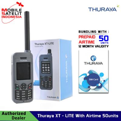 Telepon satelit Thuraya XT-LITE With Airtime 50 units