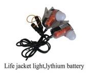 Life Jacket Light Lythium Battery
