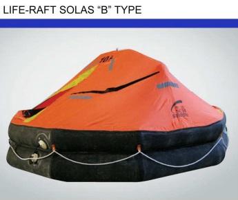 "Life-Raft Solas Type ""B 10A"
