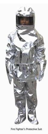 Fire Fighter's Protective Suit
