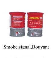 Smoke signal bouyant