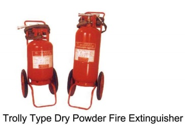 Trolly TYPE Dry Power  Fire Extinguisher 24kg