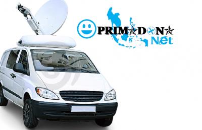 Perangkat Internet Satelit VSAT Mobile - VSAT Auto Pointing - Mobile VSAT Auto Pointing
