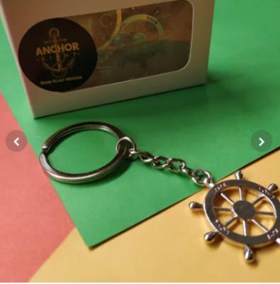 Gantungan Kunci KemudiPelayaran