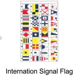 Internation Signal Flag