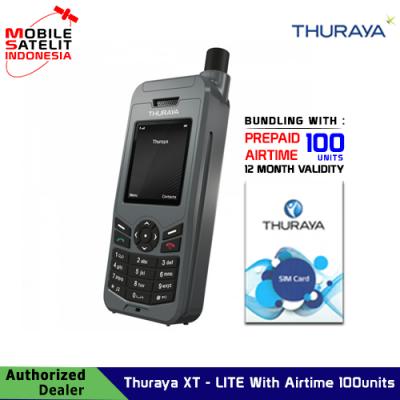 Telepon satelit Thuraya XT-LITE With Airtime 100 units