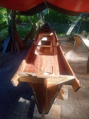 Perahu Kayu