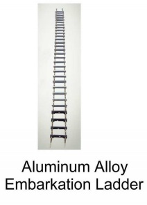 Aluminum Alloy Embarkation Leadder